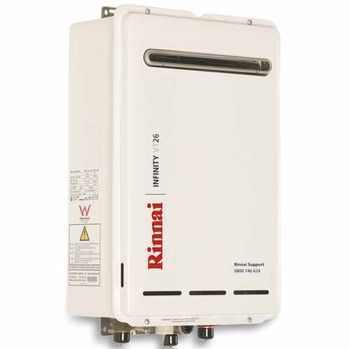Rinnai Infinity Gas Hot Water Installation Wellington - Maxey Plumbing & Gas